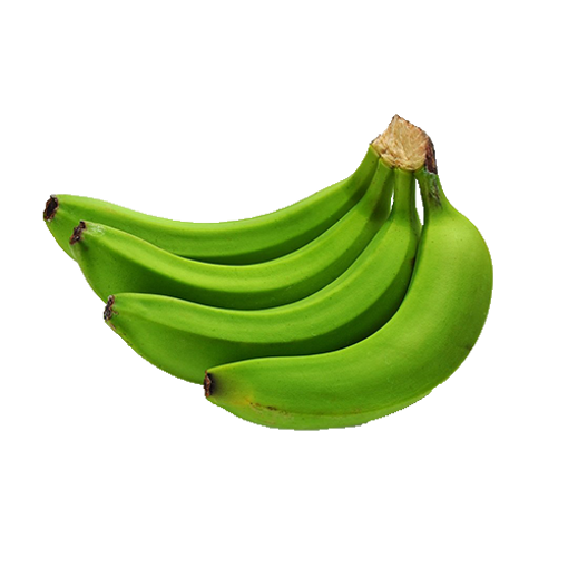 Picture of Green Banana - 4 pcs