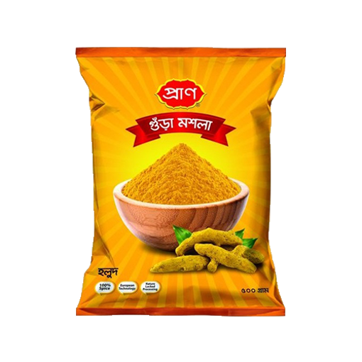 Picture of Pran Turmeric Powder - 500 gm Pouch