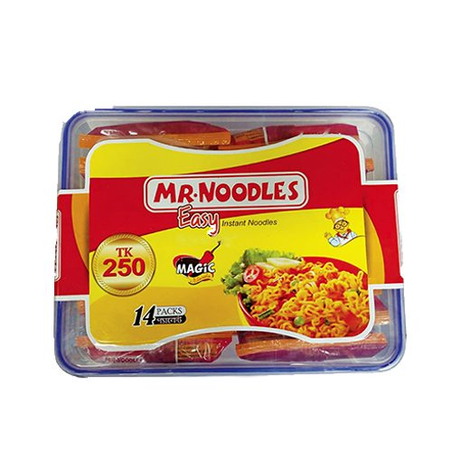 Picture of Mr. Noodles - 14 pcs (Free Container)