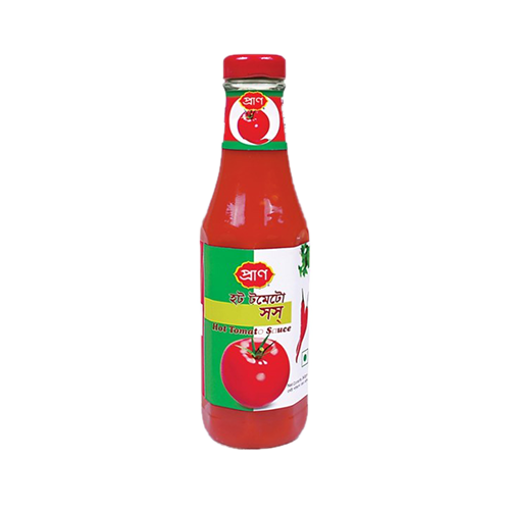 Picture of Pran Hot Tomato Sauce - 340 gm