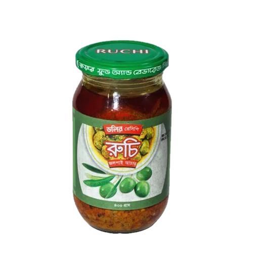 Picture of Ruchi Pickle (Olive) - 400 gm