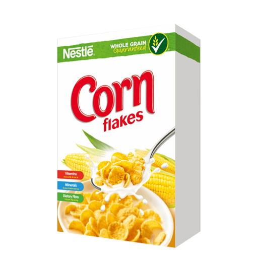 Picture of Nestlé Corn Flakes Breakfast Cereal Box - 275 gm