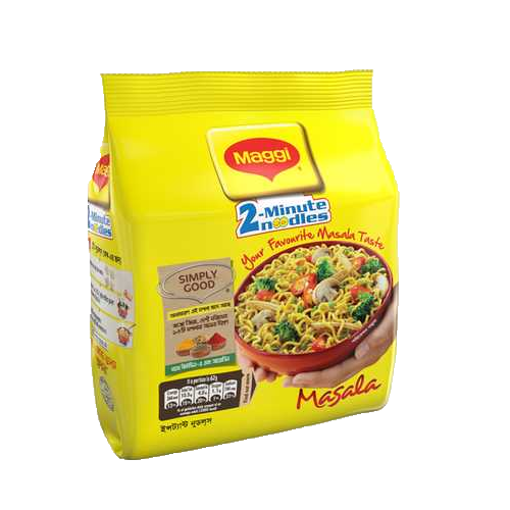 Picture of Nestlé MAGGI 2-Minute Noodles Masala - 4 Pack