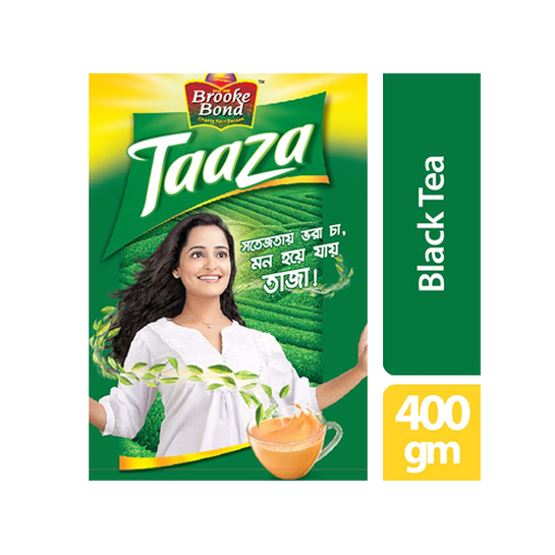Picture of Brooke Bond Taaza Black Tea - 400 gm