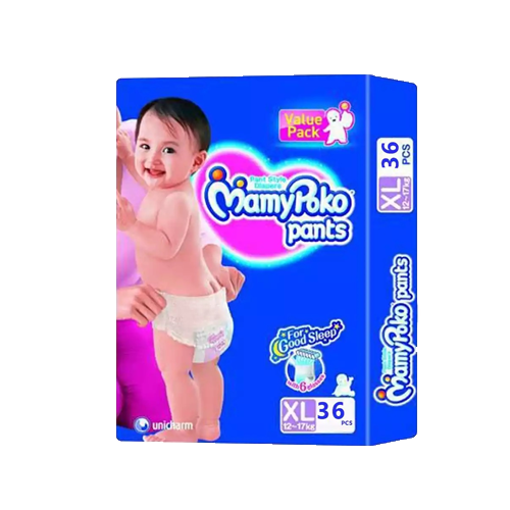 Picture of MamyPoko Pants Diaper Pant XL 12-17 kg - 36 pcs