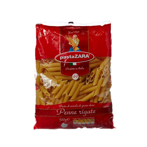 Picture of Pasta Zara Penne Rigeti - 500 gm
