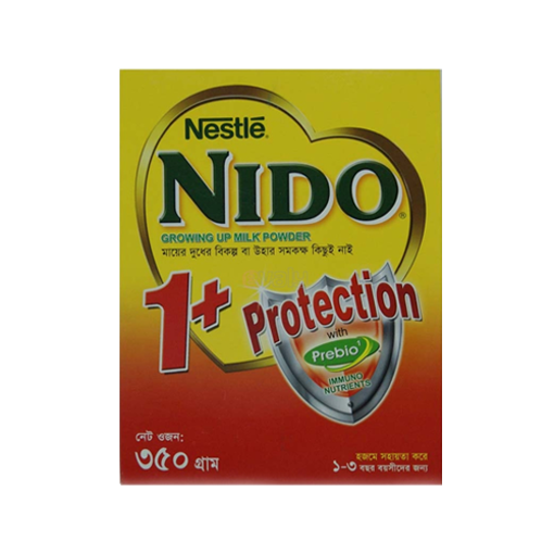 Picture of Nestlé Nido Growing Up 1+ Protection Milk Bib - 350 gm