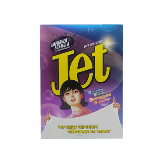 Picture of Jet Improved Formula Detergent Powder - 500 gm