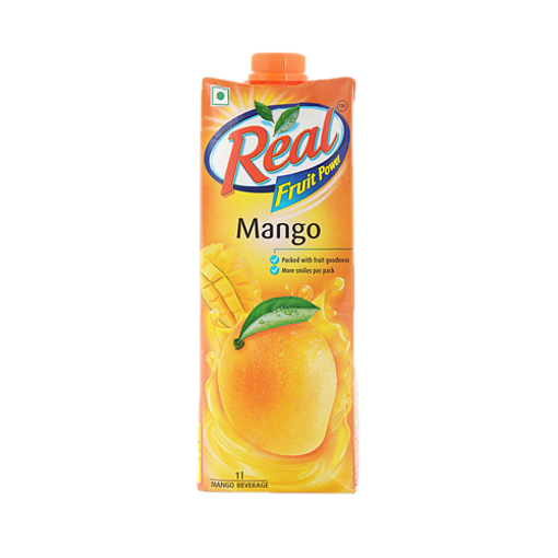 Picture of Real Fruit Power Mango Juice - 1 ltr