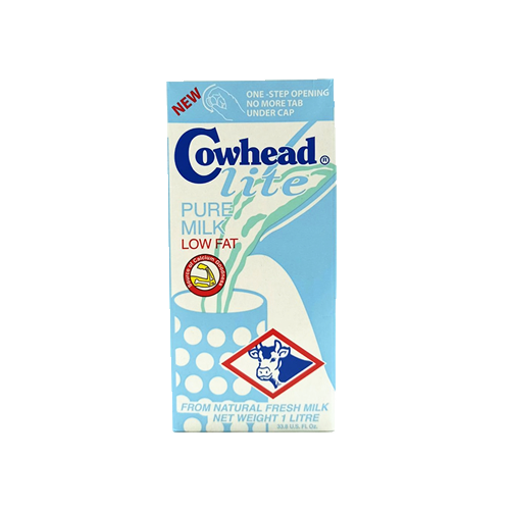 Picture of Cowhead UHT Milk Low Fat - 1 ltr