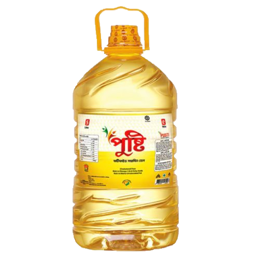 Picture of Pushti Soyabean oil - 5 ltr
