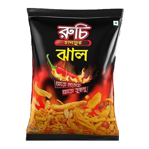Picture of Ruchi Chanachur (Hot) - 150 gm