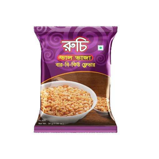 Picture of Ruchi Fried Dal-Bar-B-Q Flavor - 30 gm