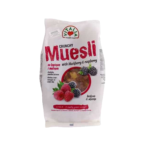 Picture of Vitalia Crunchy Muesli (Blackberry & Raspberry) - 320 gm