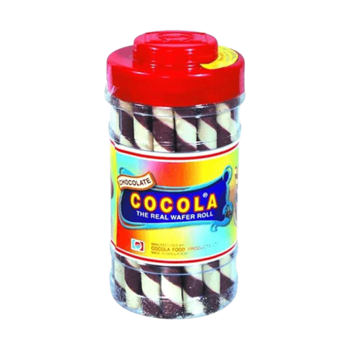 Picture of Cocola Chocolate Wafer Roll Jar - 280 gm