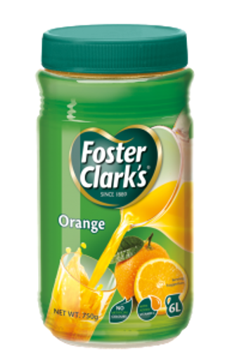 Picture of Foster Clark's Drink Orange - 750 gm