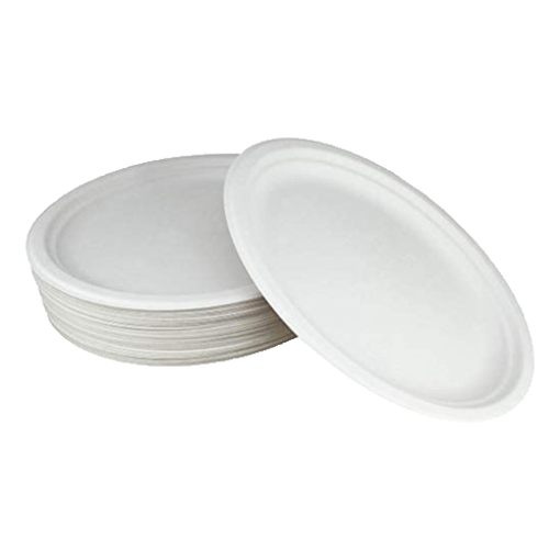 Picture of One Time Plastic Plate - 100 pcs