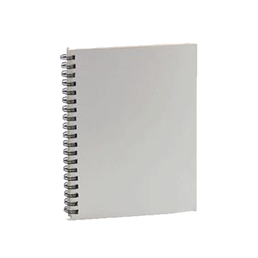 Picture of Spiral University A4 White Notebook 100 pages - Each