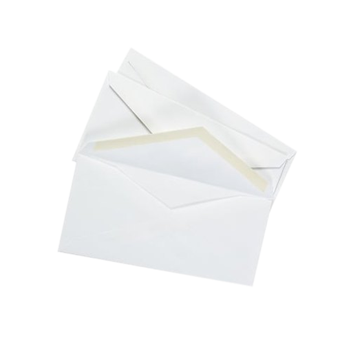 Picture of White Letter Envelope - 24 pcs