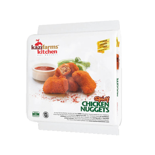 Picture of Kazi Farms Kitchen Chicken Nuggets Spicy - 250 gm