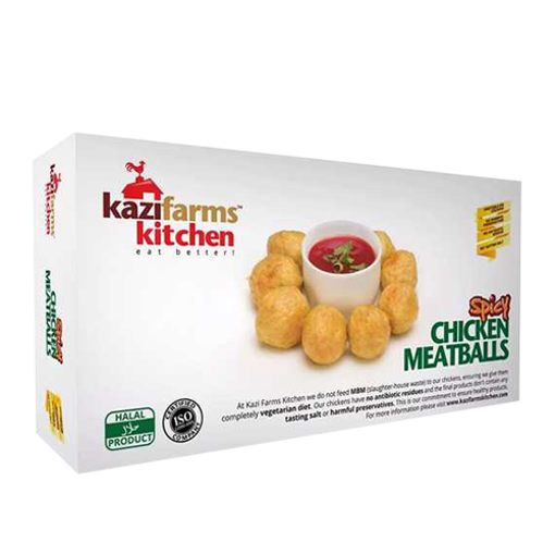Picture of Kazi Farms Kitchen Chicken Spicy Meat Ball - 250 gm