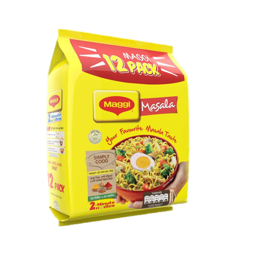 Picture of Nestle MAGGI 2 - Minute Noodles Masala - 12 packs