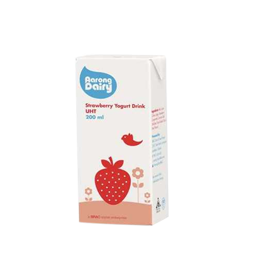 Picture of Aarong Dairy UHT Strawberry Milk - 200 ml