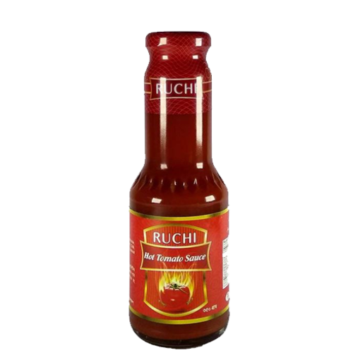 Picture of Ruchi Hot Tomato Sauce - 350 gm