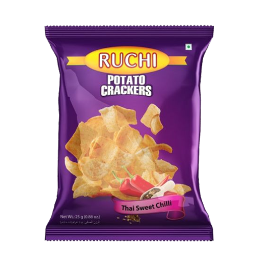 Picture of Ruchi Potato Crackers-Thai Sweet Chili - 25 gm